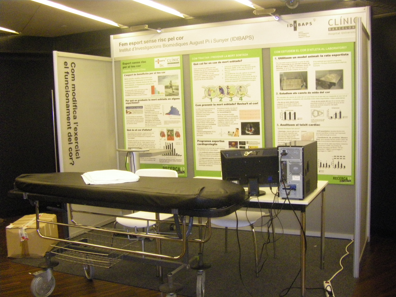 stand modular policarbonato, stand pack