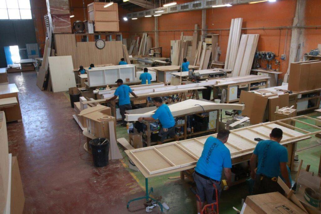 fabricación de stands