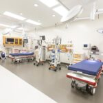 Views of the Trauma Center at The University of Chicago Medicine's new emergency department for adults, being readied for use, on December 5, 2017. The Trauma Center still has to be approved by the city of Chicago and is expected to open in May. The Emergency department expects to see up to 200 patients a day. The thirty nine million dollar facility located on the Southside of Chicago, will begin treating patients on Friday, Dec. 29. . Manuel Martinez/Crain's Chicago Business