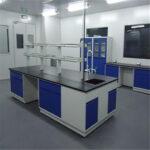 laboratorio hpl_color blanco y azul
