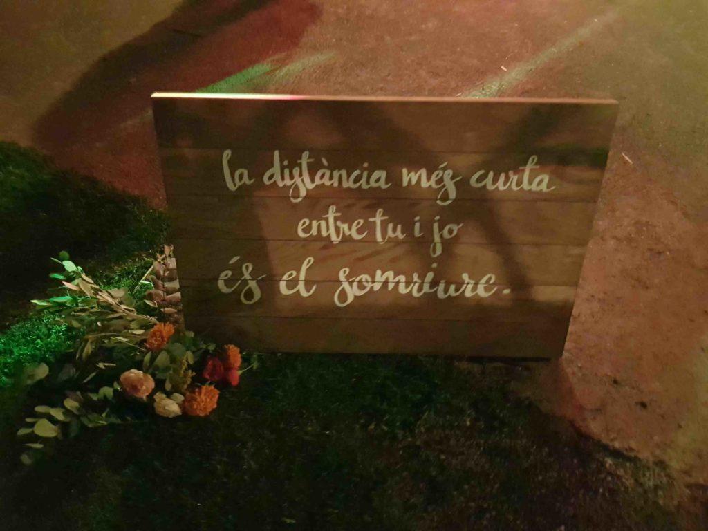 Letras Pintadas en Madera: