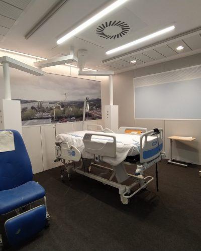 Arquitectura hospitalaria-Box UCI