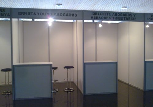 shell scheme booths frieze 25CM